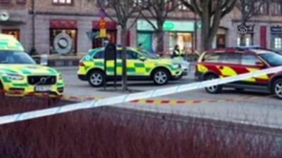 isvec - STOCKHOLM - İsveç'te bıçaklı saldırıda 8 kişi yaralandı
