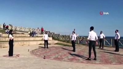 evlilik teklifi -  Antalya'da zeybekli evlilik teklifi