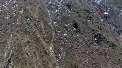Bitlis'te ele geçirilen havan mühimmatı imha edildi