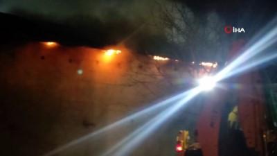 tavuk ciftligi -  Bursa'da tavuk çiftliğinde yangın