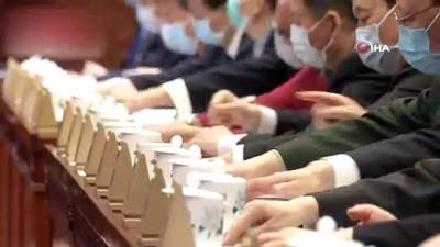 parlamento -  - Çin'den Hong Kong'daki seçim sistemi değişikliğine onay