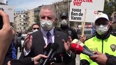 yaya gecidi -  Gaziantep'te vakalar önlenemiyor, Vali Gül 'tam kapanma' uyarısında bulundu