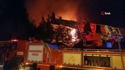 Ordu evindeki yangın kontrol altına alındı