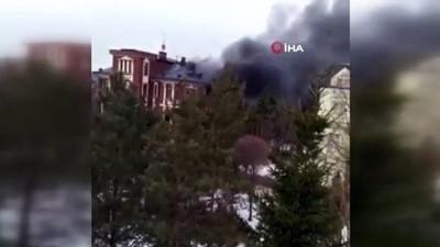 cete lideri -  - Rusya'da gözaltına alınmak istenen şahıs evini ateşe verdi