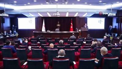 """TCMB Başkanı Kavcıoğlu: """"Enflasyonu yüzde 5'e indirmek ve kalıcı kılmak konusunda kararlıyız"""""""