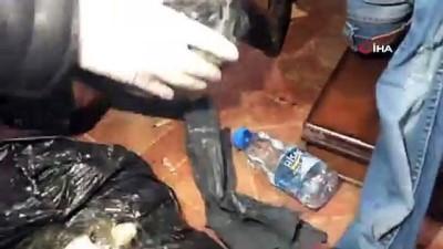 Tekirdağ'da metruk binadan 2 kilo bonzai çıktı