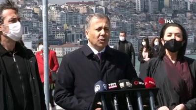 """belediye baskani -  Vali Ali Yerlikaya: """"İstanbul'daki 92 trafik kazasında 100 vatandaşımız hayatını kaybetti"""""""