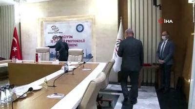 cekim -  ATO ile Gazi Üniversitesi arasında Eğitim İşbirliği Protokolü