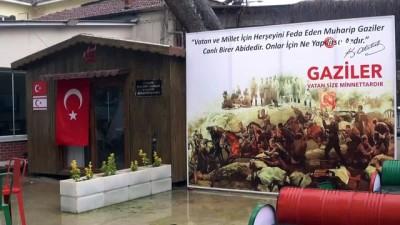 belediye baskani -  Gaziler istedi Başkan Öküzcüoğlu yerine getirdi