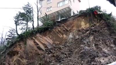 İkizdere'de heyelana maruz kalan evler yıkılacak