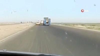 iran -  - Irak'ta koalisyon güçlerine destek sağlayan tıra bombalı saldırı