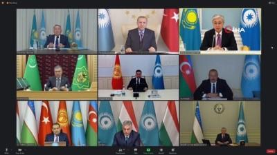 """konferans -  - Kırgızistan Cumhurbaşkanı Caparov: """"Türk Konseyi, önemli platform haline geldi"""""""