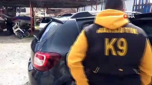 sistem yapi -  Polis düğmeye bastı, uyuşturucu ortaya çıktı