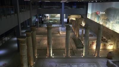 ziyaretciler -  Zeugma Mozaik Müzesi'nde 2021 yılı hedefi 500 bin ziyaretçi
