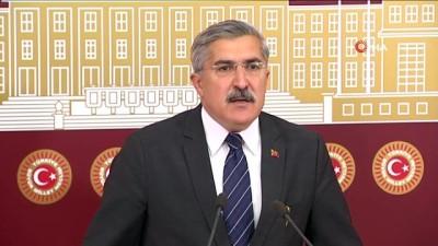 skandal -  AK Partili Yayman'dan New York'taki skandal ilana tepki