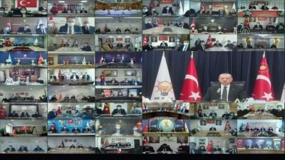 konferans - ANKARA - Cumhurbaşkanı Erdoğan: 'Karşımızda 40 yamalı bohça misali oluşturulan ittifak, şimdiden tel tel dökülmeye başladı'