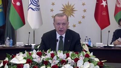 iran - ANKARA - Cumhurbaşkanı Erdoğan: 'Önceliğimiz Karabağ'da güvenlik ve istikrarın tesisine yardımcı olmak, 30 yıllık işgalin tahribatını birlikte gidermektir.'