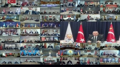 konferans - ANKARA - Cumhurbaşkanı Erdoğan: 'Türkiye'yi önümüzdeki asırda yürüyüşüne rehberlik edecek kuşatıcı, sarih, demokratik, özgürlükçü bir anayasaya kavuşturacağız'
