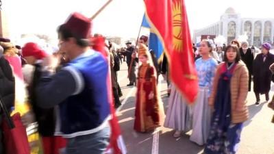 BİŞKEK - Kırgızistan'da Devlet Bayrak Günü kutlandı
