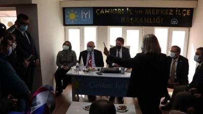 ÇANKIRI - İYİ Partili Erozan: 'Vatandaşlarımızın vereceği destekle başarıya ulaşacağız'