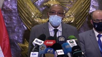 baskent - HARTUM - Sudan'a COVAX'ın gönderdiği Kovid-19 aşılarının ilk sevkiyatı ulaştı (2)