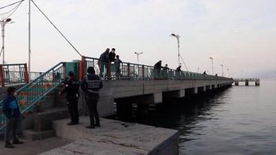 olta - HATAY - Amatör balıkçının oltasına tabanca takıldı