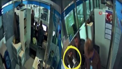 Havalimanında yabancı turistleri dolandıran gişe memurlarının görüntüleri ortaya çıktı