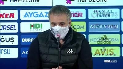 İSTANBUL - Fenerbahçe - Antalyaspor maçının ardından - Ersun Yanal
