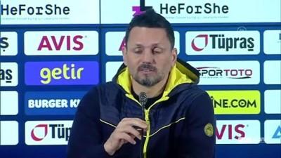 İSTANBUL - Fenerbahçe - Fraport TAV Antalyaspor maçının ardından - Erol Bulut