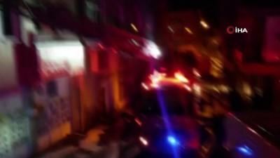 yangina mudahale -  Kahramanmaraş'ta ev yangını: Karı koca yaralandı