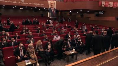 KIRŞEHİR - CHP Genel Başkan Yardımcısı Salıcı, Bölge Toplantısı'nda konuştu
