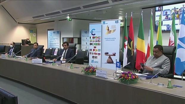 konferans - VİYANA - OPEC+ ülkeleri üretim kesintilerini 1 ay daha uzatma kararı aldı