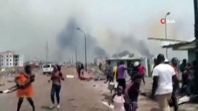 baskent -  - Ekvator Ginesi'nde 4 patlama: Ölü ve yaralılar var