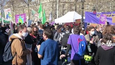 baskent -  - Fransa'da kadınlardan 8 Mart kutlaması