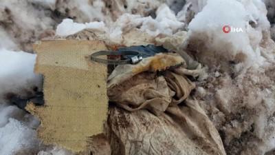 helikopter kazasi -  İHA muhabiri 11 askerin şehit olduğu kaza alanını görüntüledi