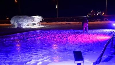 ARDAHAN - 'Buz Şehri Projesi' yörenin kış turizmine değer kattı