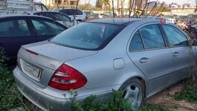 hanli -  Avrupa'dan çalınan milyonluk lüks araçlar çürümeye terk edildi