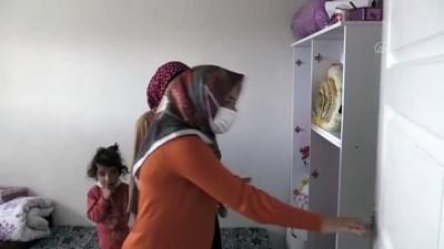 hanli - GAZİANTEP - Sokakta kalan anne ve çocuklarına belediye ekipleri sahip çıktı