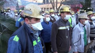 Grizu patlamasında şehit olan 103 madenci törenle anıldı