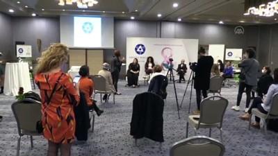 MERSİN - Akkuyu NGS'nin kadın çalışanları, 8 Mart Dünya Kadınlar Günü'nde kadın gazetecilerle buluştu
