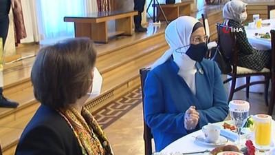 TBMM Başkanı Mustafa Şentop, TBMM'de kadınlarla buluştu