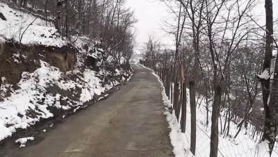 kar temizleme - TRABZON - Kar yağışı etkili oldu