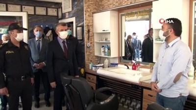 internet kafe -  Başkent'te korona virüs tedbirleri denetlendi