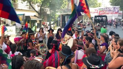 baskent - BUENOS AIRES - Arjantin'de 8 Mart Dünya Kadınlar Günü yürüyüşü düzenlendi