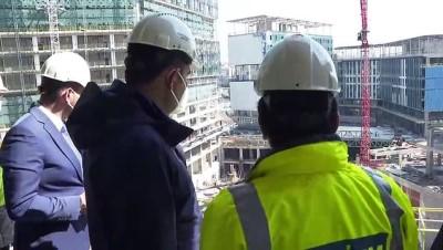 trafik sorunu - İSTANBUL - Çevre ve Şehircilik Bakanı Kurum: ''İstanbul Finans Merkezi'miz yaklaşık 3 milyon 300 bin metrekare inşaat alanına sahip. Şu an inşaat ilerleme seviyemiz yüzde 66'ya gelmiş durumda''