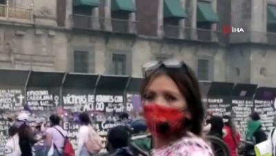 kadin cinayetleri -  - Meksika'da 8 Mart gösterisine polis müdahalesi: 19 yaralı