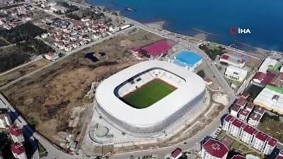 futbol maci - Ordu yeni stadına kavuşuyor