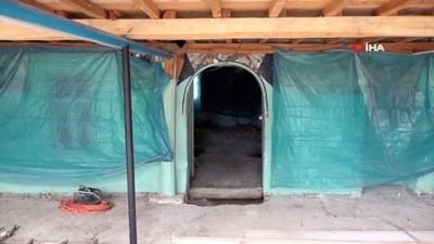 bakis acisi -  137 yıllık tarihi 'Belenardıç Camisi' gelecek kuşaklar için yenileniyor