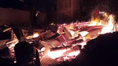 Artvin Valiliği'nden Ortaköy'de çıkan yangınla ilgili açıklama