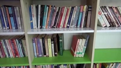 Isparta'da lise öğrencilerine modern kütüphane